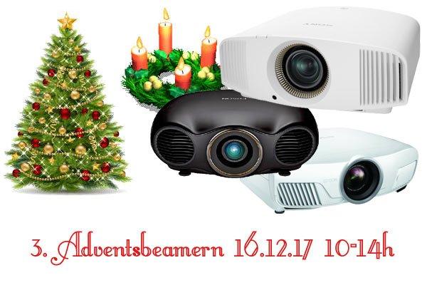 3. Adventsbeamern am 16.12.2017 von 10 - 14 Uhr