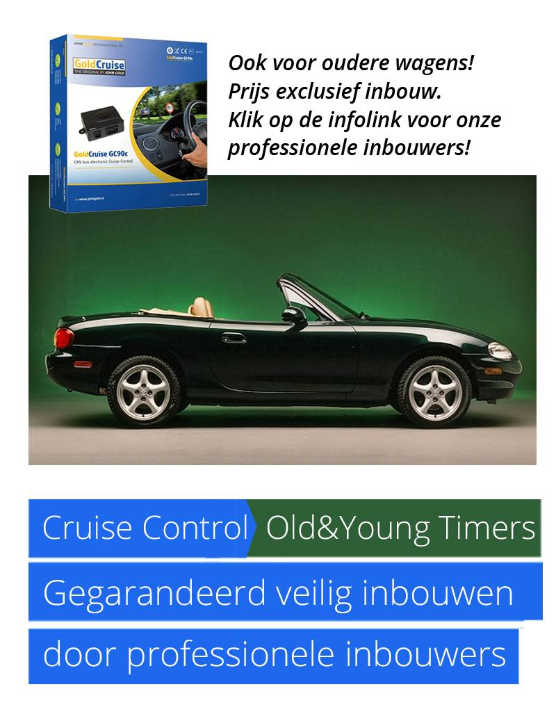 GoldCruise GC55, voor mechanisch gaspedaal