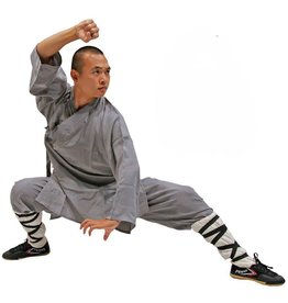 Enso Martial Arts Shop Grey Shaolin Robes