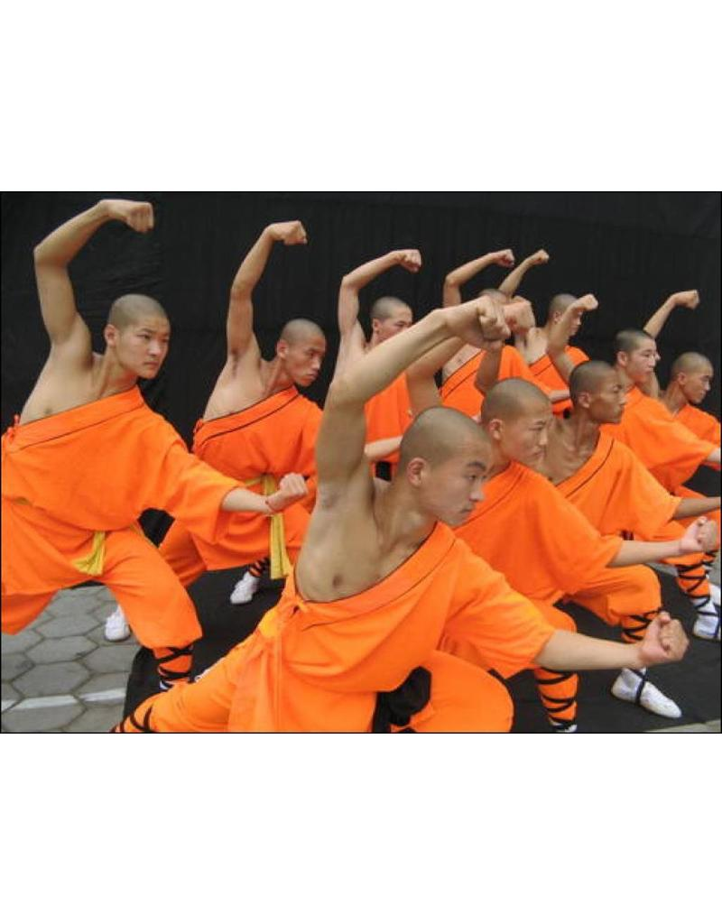 Enso Martial Arts Shop Orange Shaolin Robes