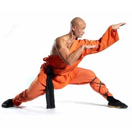 Enso Martial Arts Orange Shaolin Robes