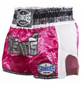 Sandee Sandee Thai Shorts Supernatural Pink & Silver
