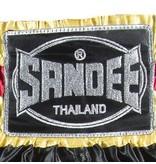 Sandee Sandee Thai Shorts Respect Yellow & Black