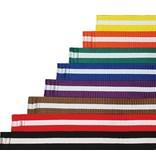 White Stripe Belt