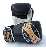 Sandee Sandee Boxing Gloves Cool Tec Black & Gold