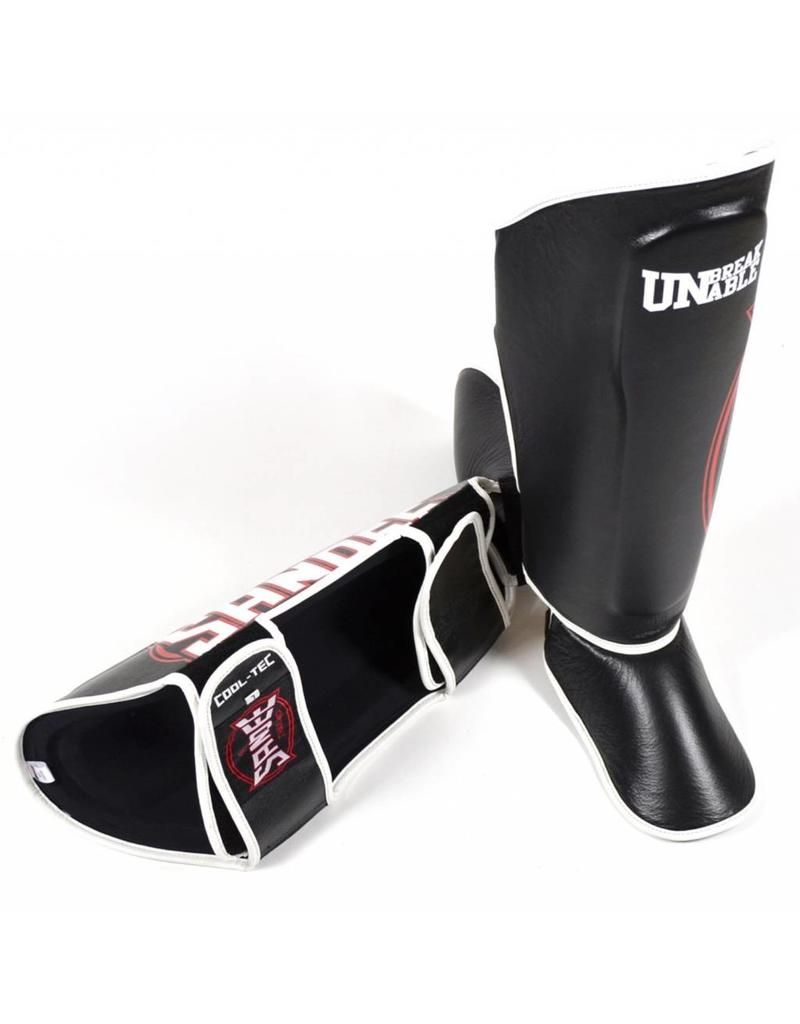 Sandee Sandee Shin Guards Cool Tec Black White