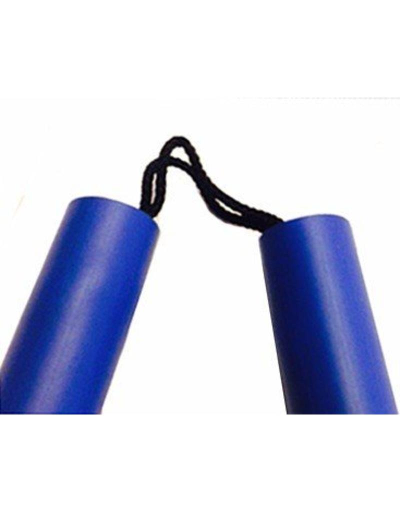 Enso Martial Arts Shop Blue Foam Nunchaku with Cord