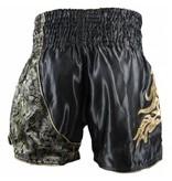 Sandee Sandee Thai Shorts Unbreakable Black & Gold