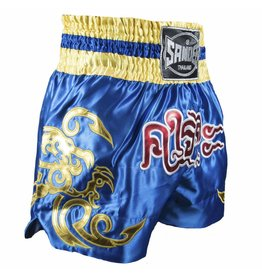 Sandee Sandee Thai Shorts Respect Blue & Yellow