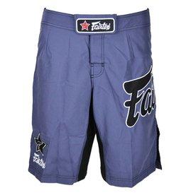 Fairtex Fairtex MMA Shorts Purple with Black Logo