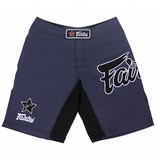 Fairtex Fairtex MMA Shorts Purple with Black Logo