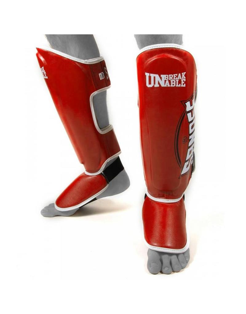 Sandee Sandee Shin Guards Cool Tec Red
