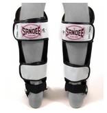 Sandee Sandee Shin Guards Cool Tec White