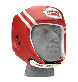 Probox Pro Box Boxing Head Guard - Red