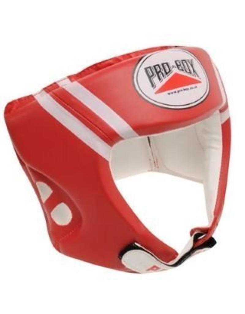 Probox Pro Box Boxing Head Guard - Red