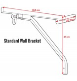 Enso Martial Arts Shop Punch Bag Wall Bracket