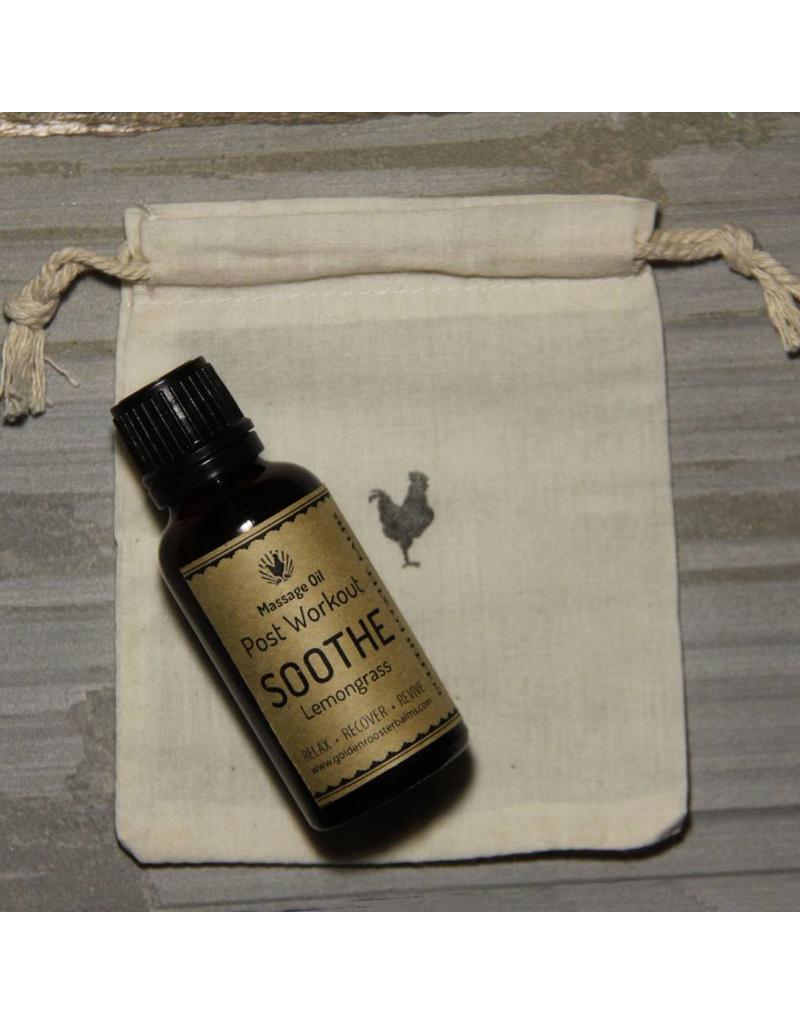 Golden Rooster Balms Post Workout Sports Massage Oil