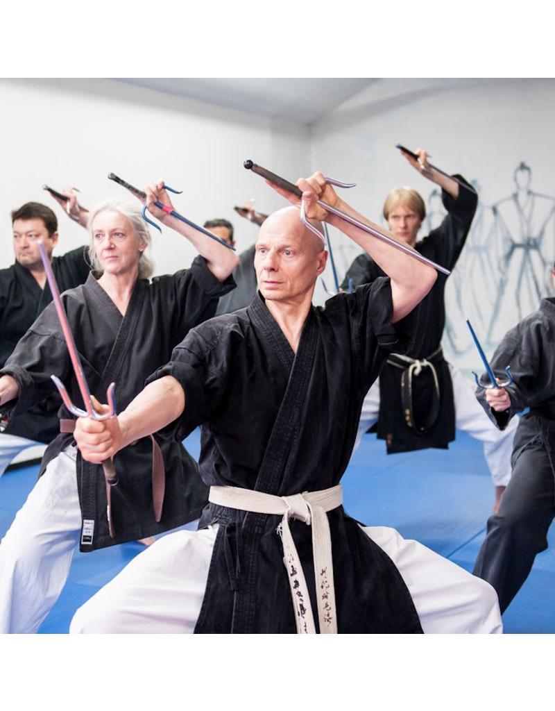 Enso Martial Arts Shop Chrome Round Sai Daggers
