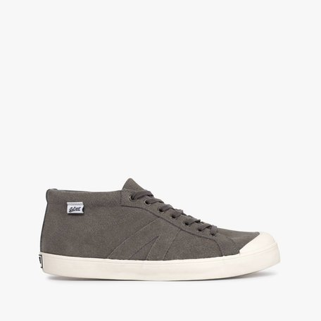 Slipfielder Hi Grey Suede