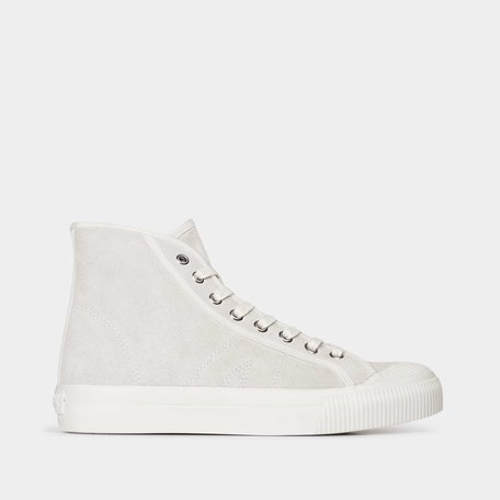 Swish Hi Off White Suede