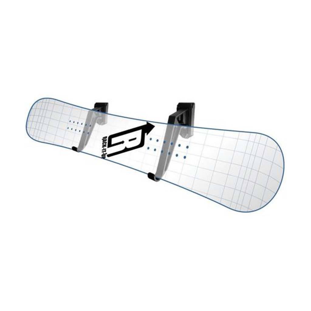 Rack it up Ophangbeugel Elektrisch Skateboard Horizontaal