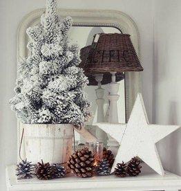 kerstboom sneeuw