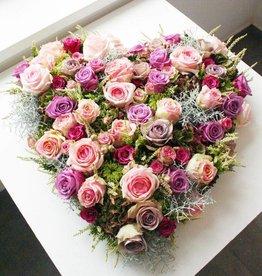 gemengd bloemenhart
