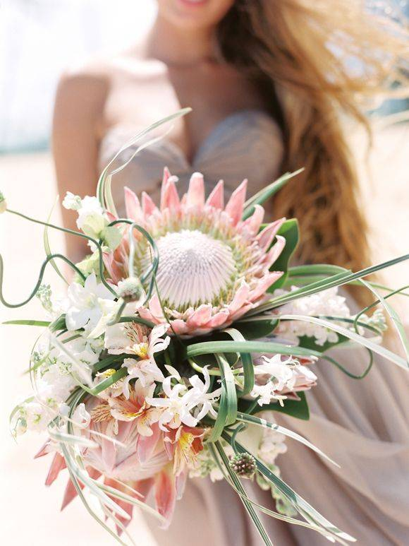 Bruidsboeket Protea