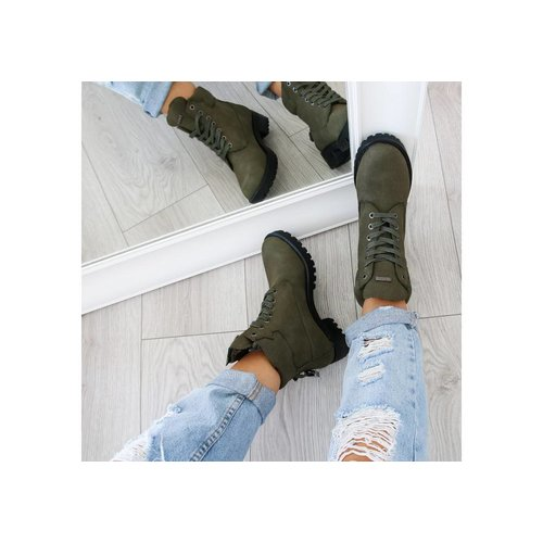 "Boots ""LOCK"" green"