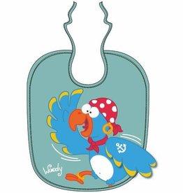 Woody slabbetje, thema papegaai