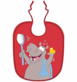 Woody slabbetje, thema nijlpaard