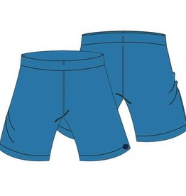 Woody Unisex short, blauw