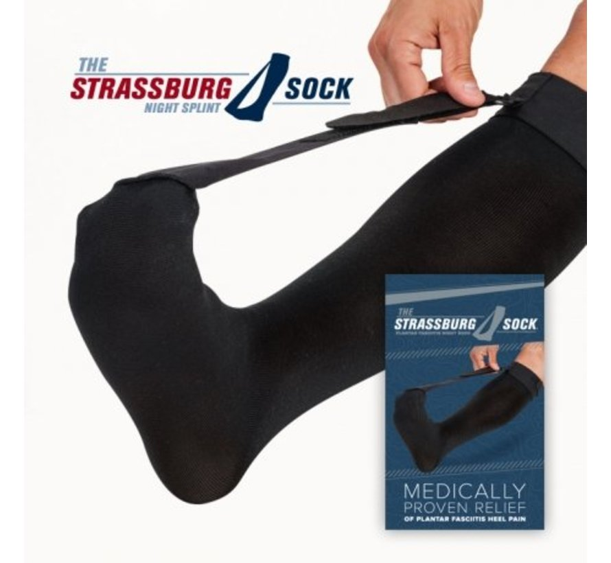 The Strassburg Sock Zwart (Original)