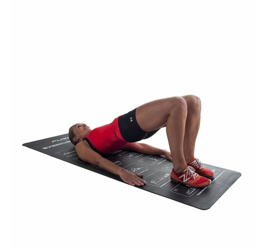 Pure2improve Exercise mat 180x61x0.4cm