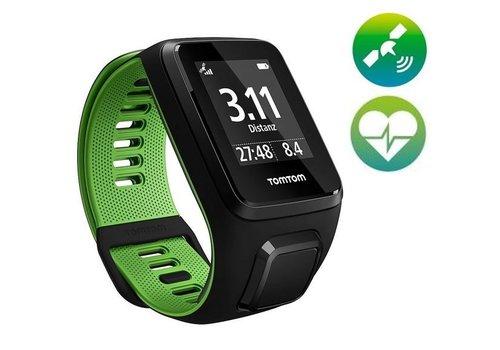 TomTom TomTom Runner 3 Cardio GPS Sporthorloge (zwart / groen)