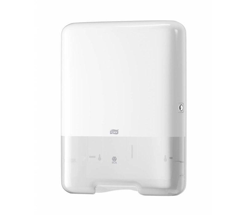 Tork Wit Dispenser Handdoek Zigzag/C-Vouw  H3 55300
