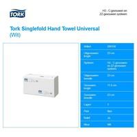 Tork Wit Singlefold Handdoeken Universal (1 laag) 4500 st