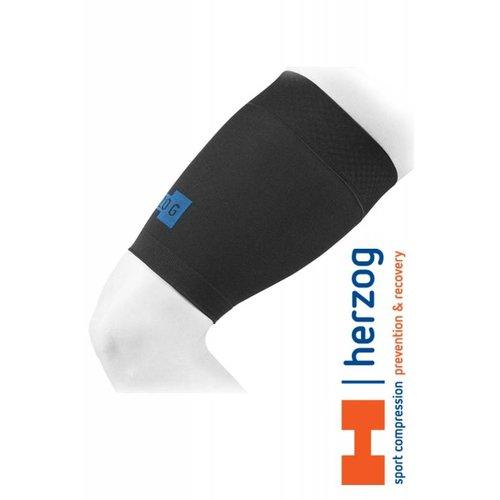 Herzog Pro Hamstring Bandage Zwart