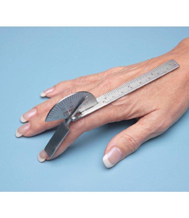 Baseline vinger goniometer,  (Vinger hoekmeter)