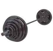 Body Solid Olympische Halterset 140 kg (zwart)