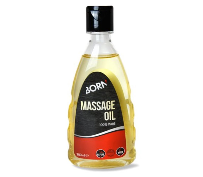 Massage oil van Born Sportscare