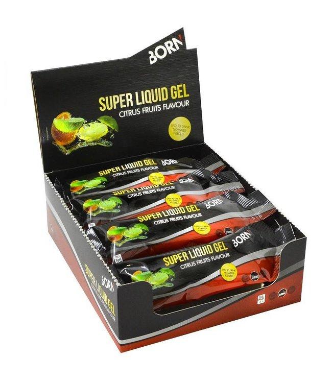 Born Sportscare Super liquid gel citrus fruits flavour 55 ml (12 stuks)