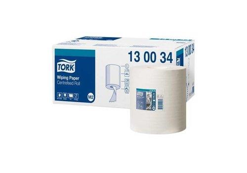 Tork Tork poetsrol Wiping Paper Centerfeed 1 laags