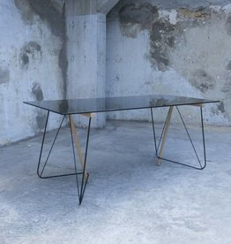 Kontour design Tw Trestle Table