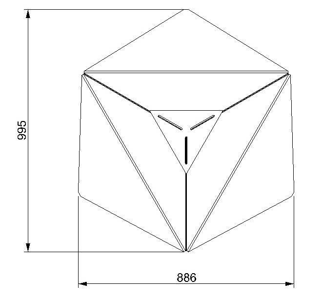 Straff design Fractal Firepit