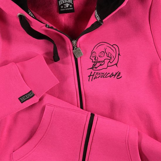100% Hardcore dames vest basic 2.0 Roze