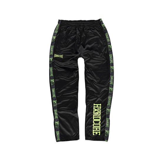 100% Hardcore Training Broek Vertical Black/ Green