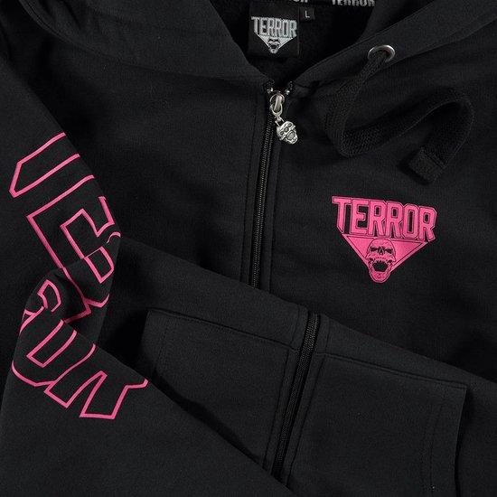 Terror Hooded zipper Women Basic 2.0