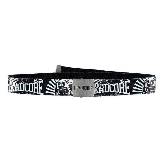 100% Hardcore Belt *Dog-1* Black