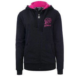 100% Hardcore Women Hooded Zipper Basic 2.0